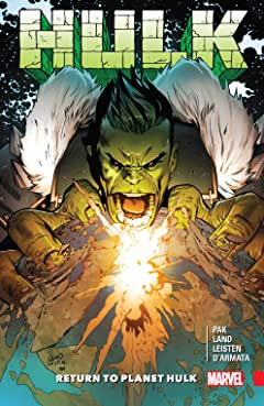 Hulk: Return To Planet Hulk