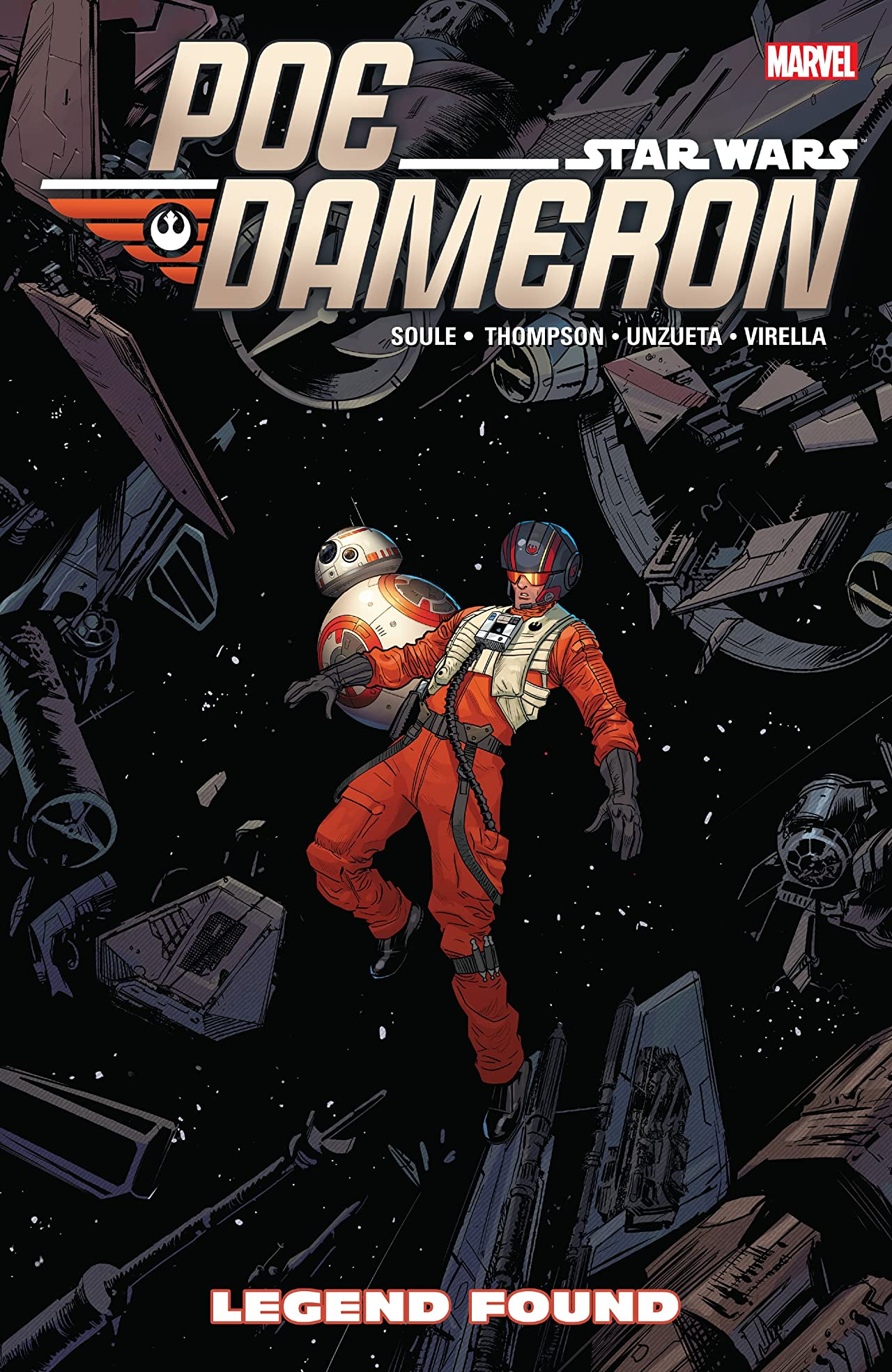 Star Wars: Poe Dameron Tome 4: Legend Found