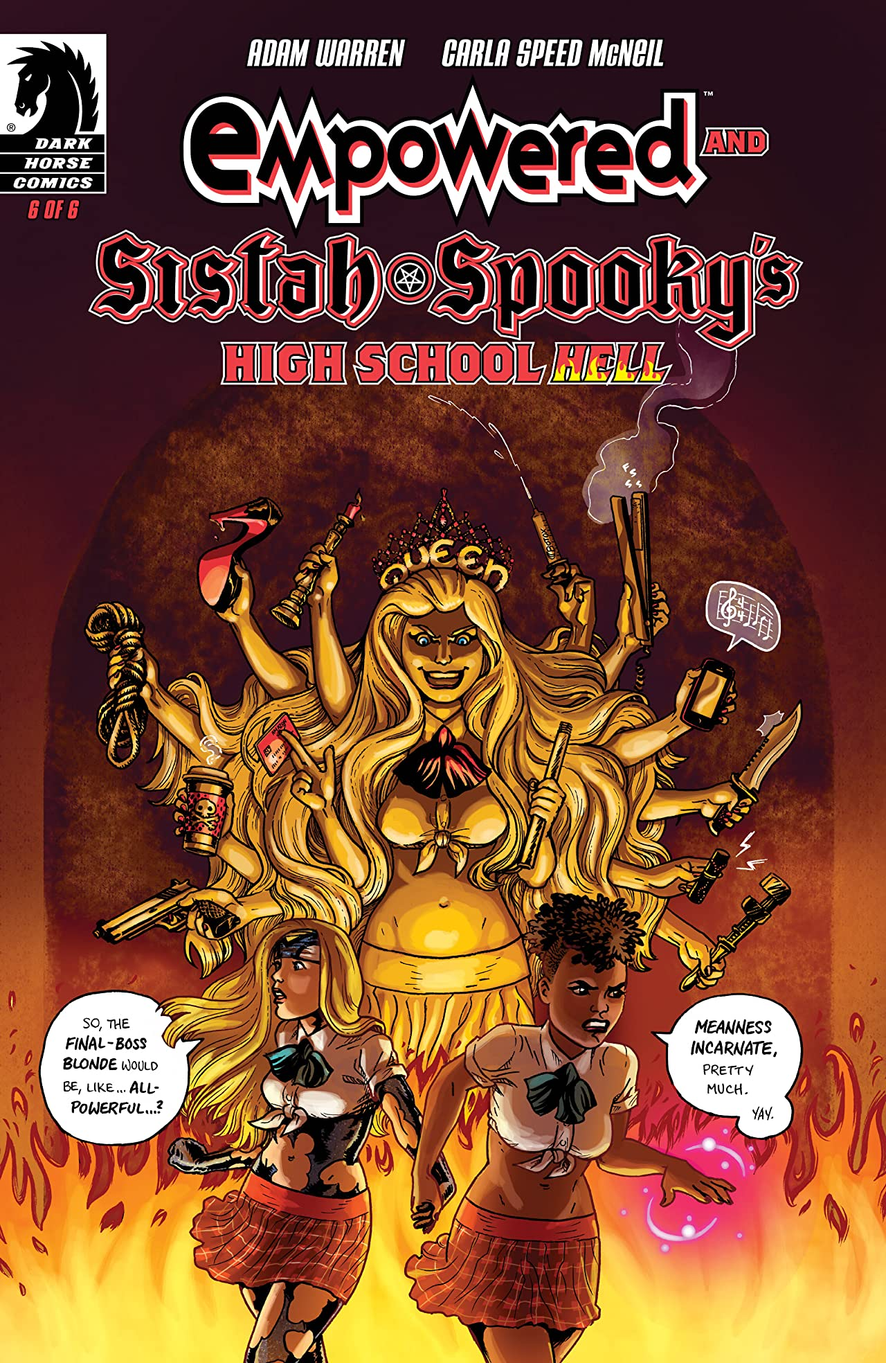 Empowered and Sistah Spooky's High School Hell No.6