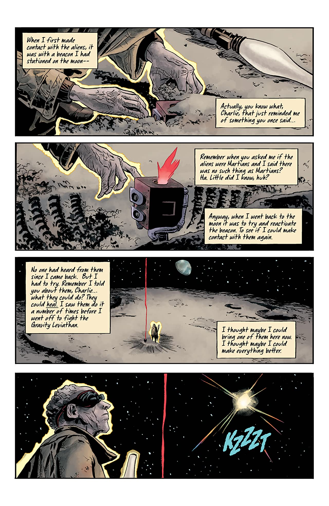Doctor Star & The Kingdom of Lost Tomorrows: From the World of Black Hammer #3