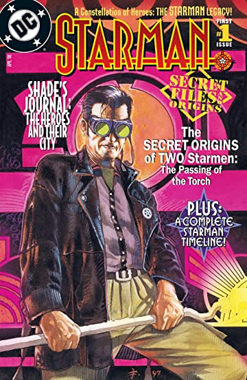 Starman Secret Files (1998) #1