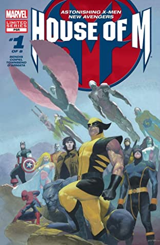 House of M No.1 (sur 8)