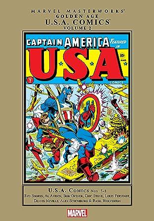 Golden Age U.S.A. Comics Masterworks Vol. 2