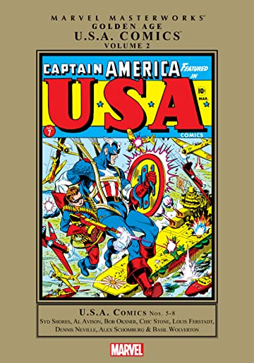 Golden Age U.S.A. Comics Masterworks Vol. 2