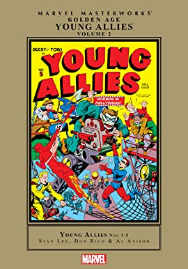 Golden Age Young Allies Masterworks Vol. 2