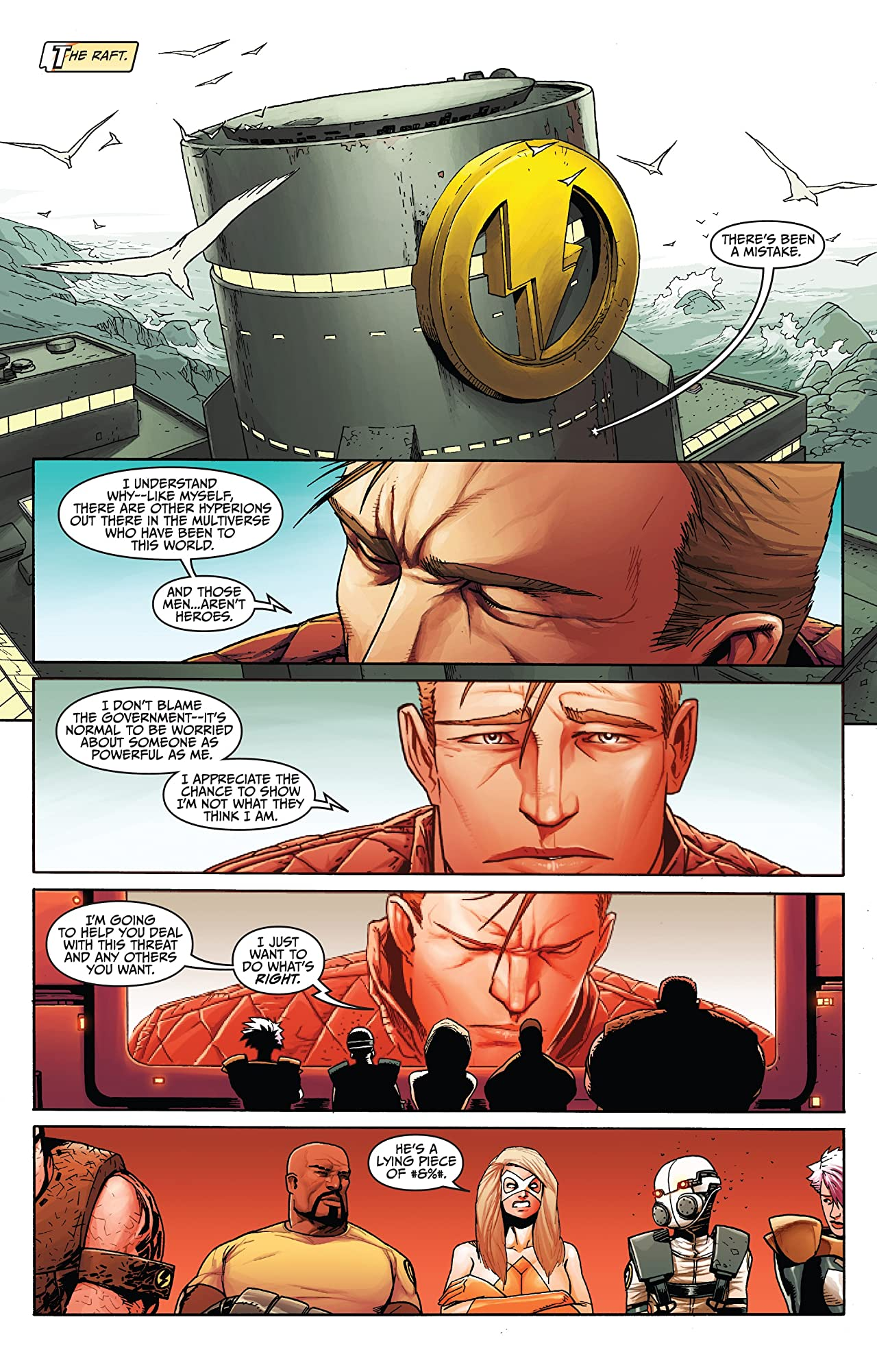Thunderbolts: Violent Rejection