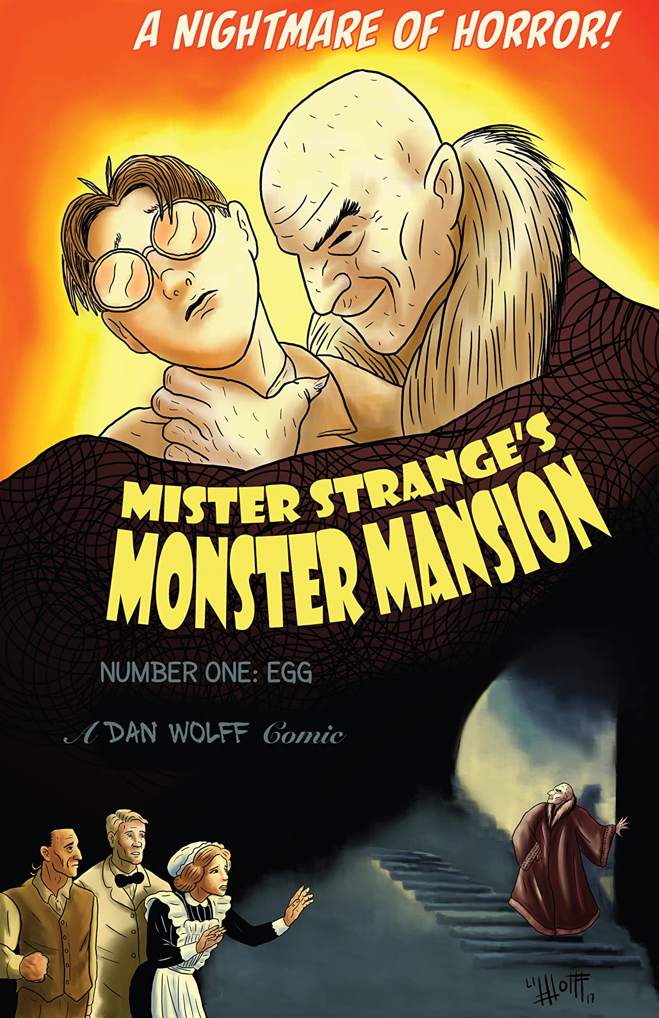 Mister Strange's Monster Mansion #1