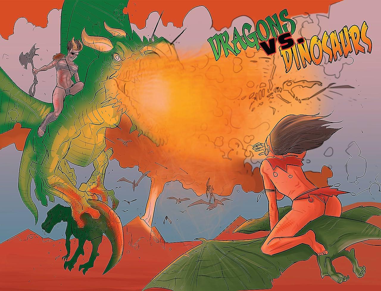 Dragons vs. Dinosaurs #1