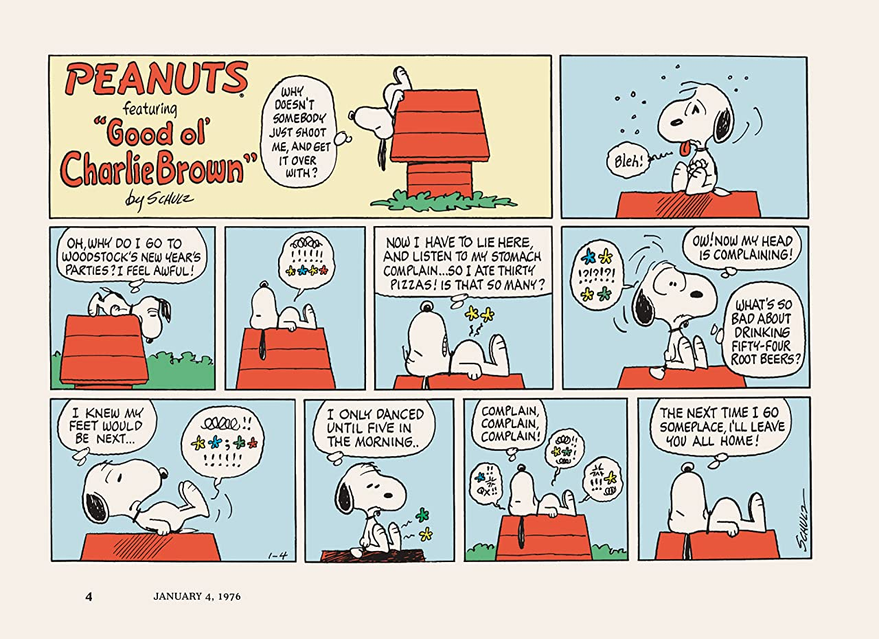 Peanuts Every Sunday Vol. 6: 1976–1980