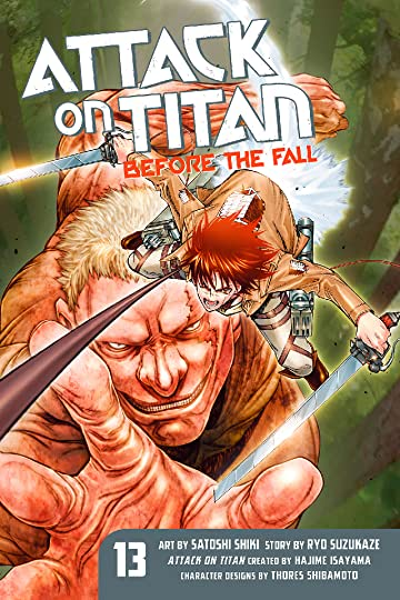 Attack on Titan: Before the Fall Vol. 13