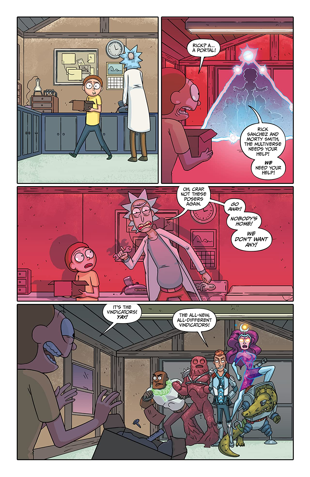 Rick and Morty Presents #1: The Vindicators