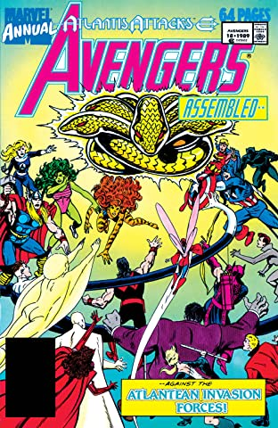 Avengers (1963-1996) Annual #18