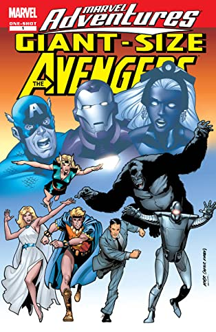 Giant-Size Marvel Adventures Avengers (2007) #1