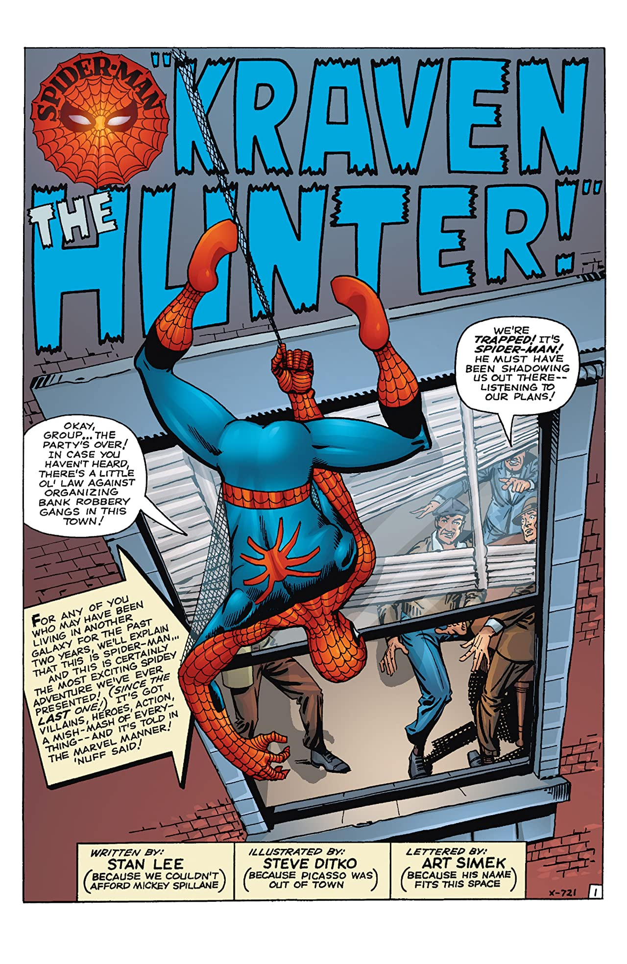 Spider-Man: Origin of the Hunter (2010) #1