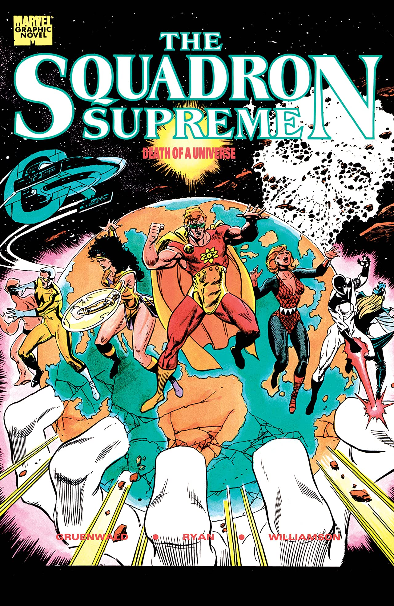 Squadron Supreme: Death of a Universe (1989) #1