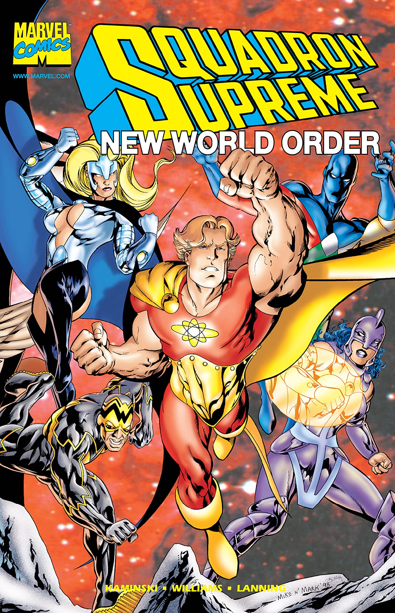 Squadron Supreme: New World Order (1998) #1