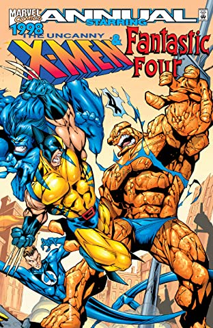 Uncanny X-Men / Fantastic Four '98 Annual (1998) No.1