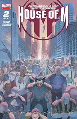 House of M #2 (of 8)