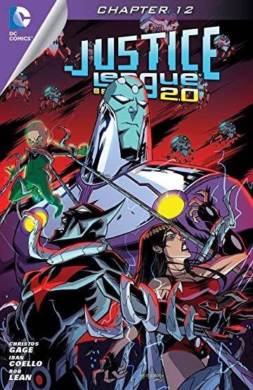 Justice League Beyond 2.0 (2013-2014) #12