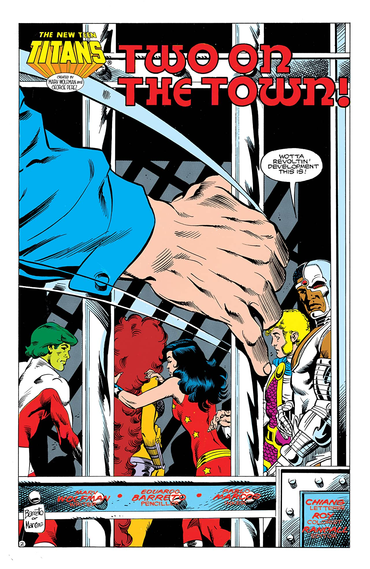 The New Teen Titans (1984-1996) #37