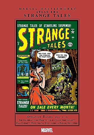 Atlas Era Strange Tales Masterworks Vol. 1