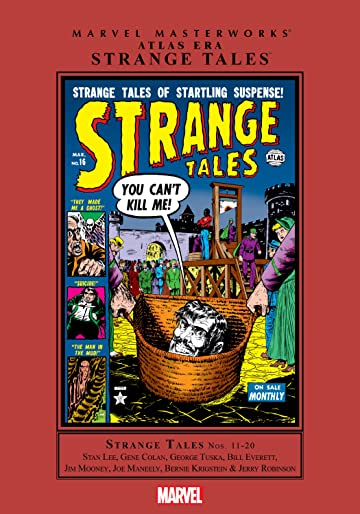 Atlas Era Strange Tales Masterworks Vol. 2