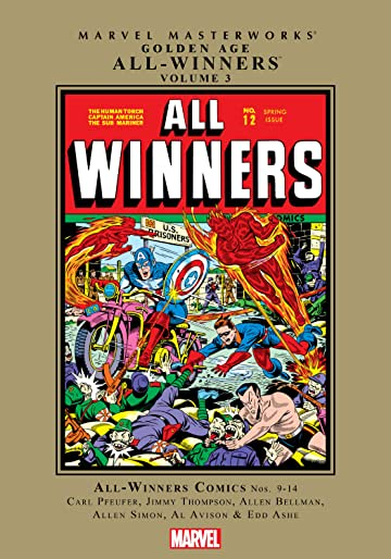 Golden Age All-Winners Masterworks Vol. 3
