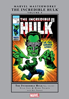 Incredible Hulk Masterworks Vol. 5