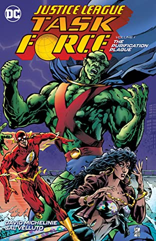 Justice League Task Force (1993-1996) Tome 1: Purification Plague