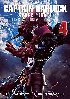 Captain Harlock Space Pirate: Dimensional Voyage Vol. 4