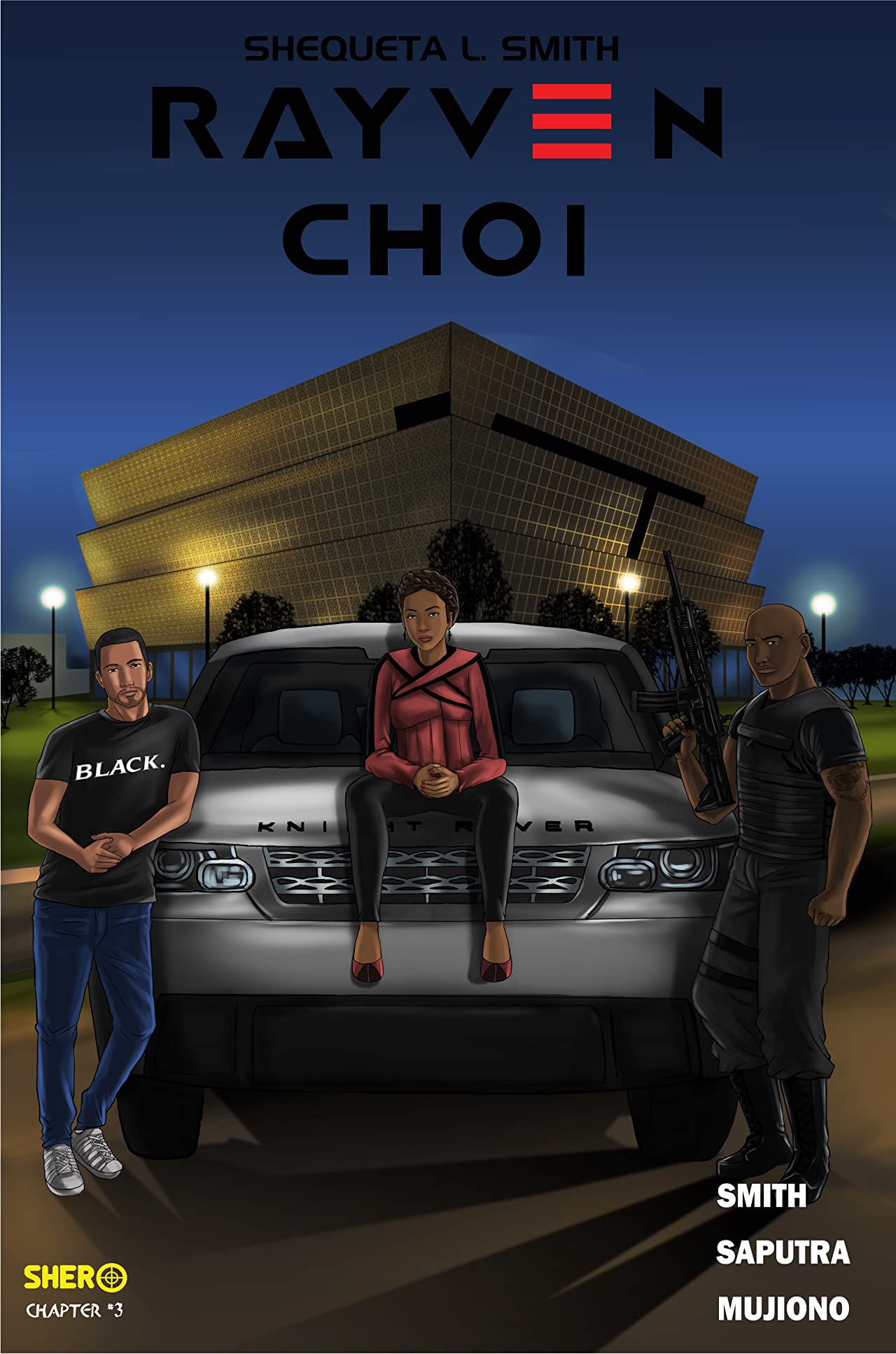 Rayven Choi Vol. 3: The Bounty Hunter