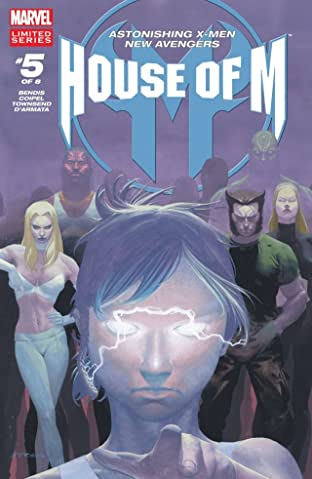 House of M No.5 (sur 8)