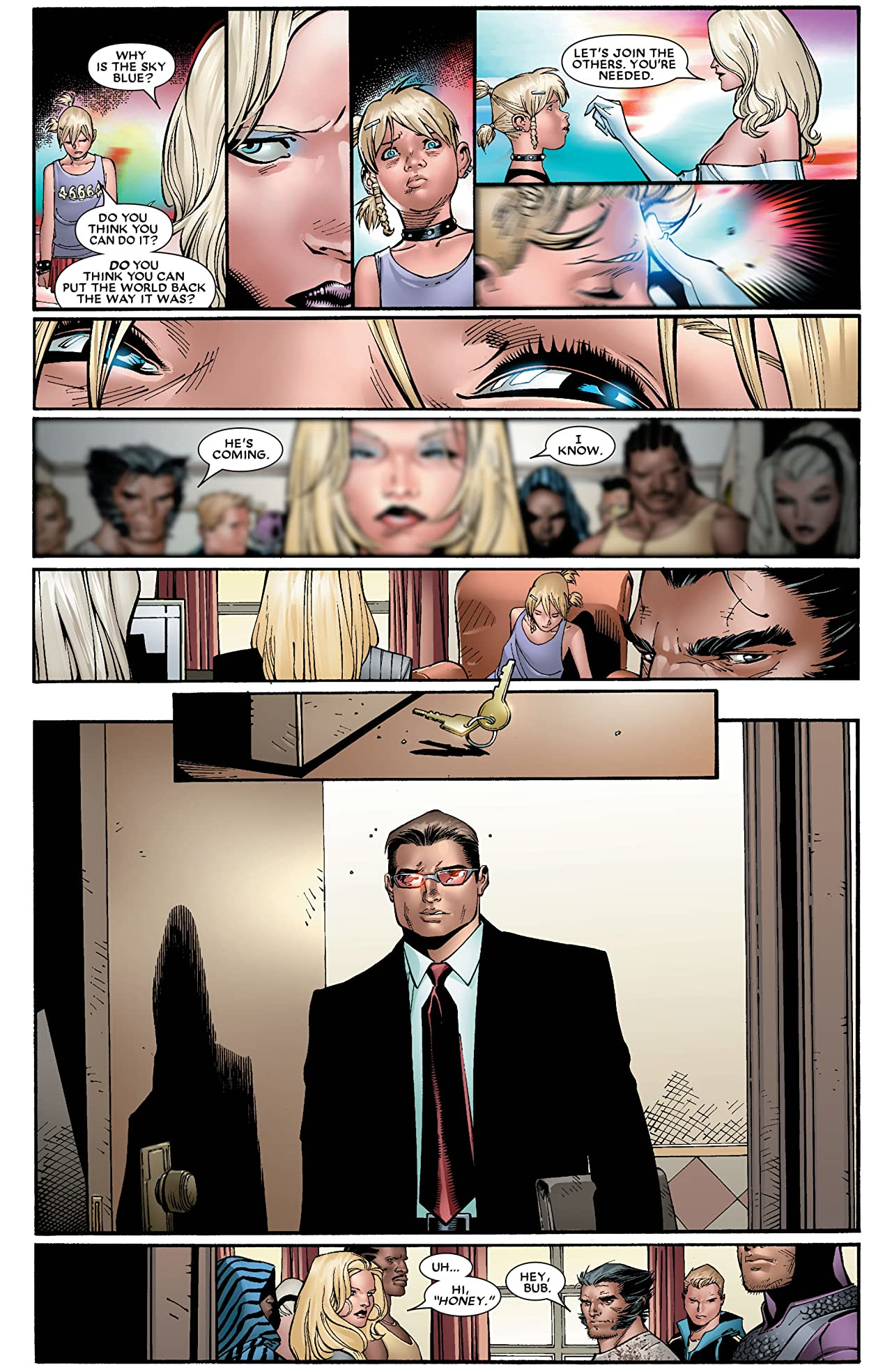 House of M #5 (of 8)