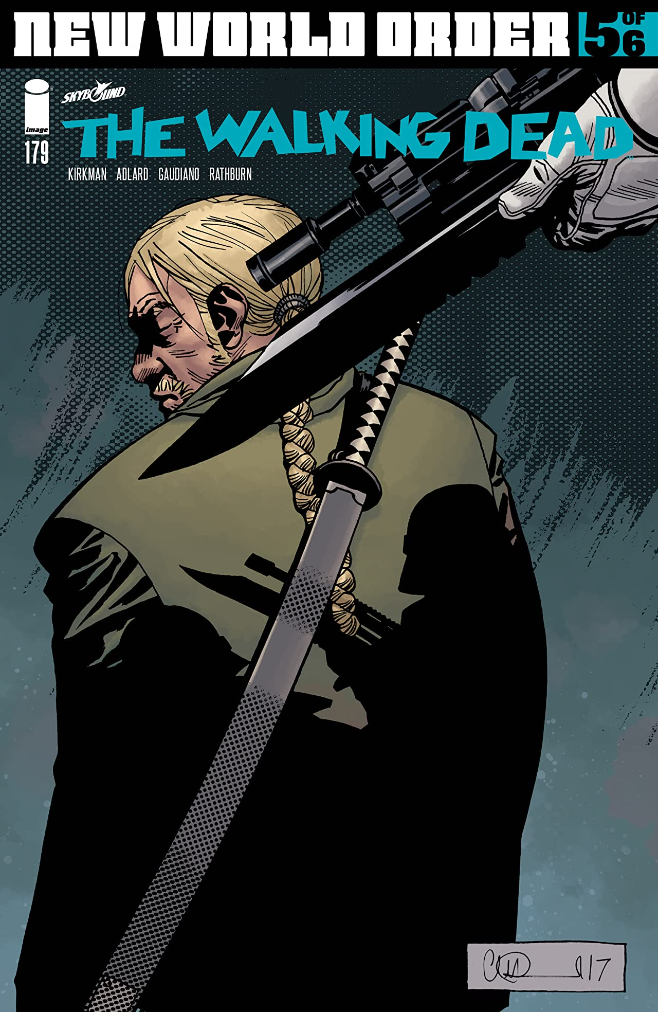 The Walking Dead No.179