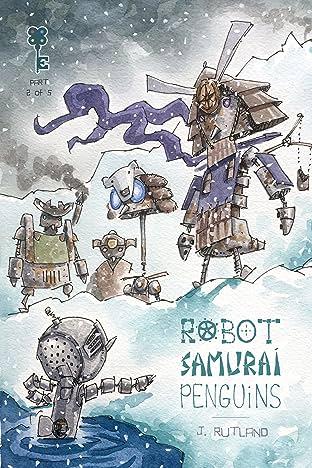 Robot Samurai Penguins No.2