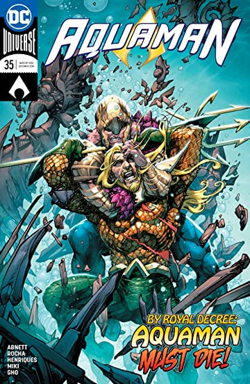 Aquaman (2016-) No.35