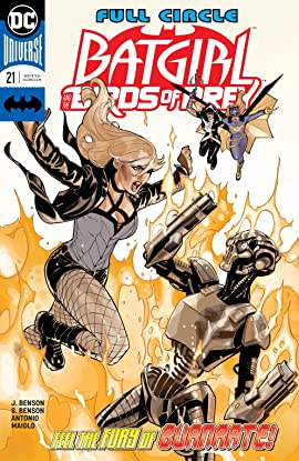 Batgirl and the Birds of Prey (2016-2018) #21