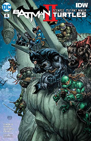 Batman/Teenage Mutant Ninja Turtles II (2017-) #6