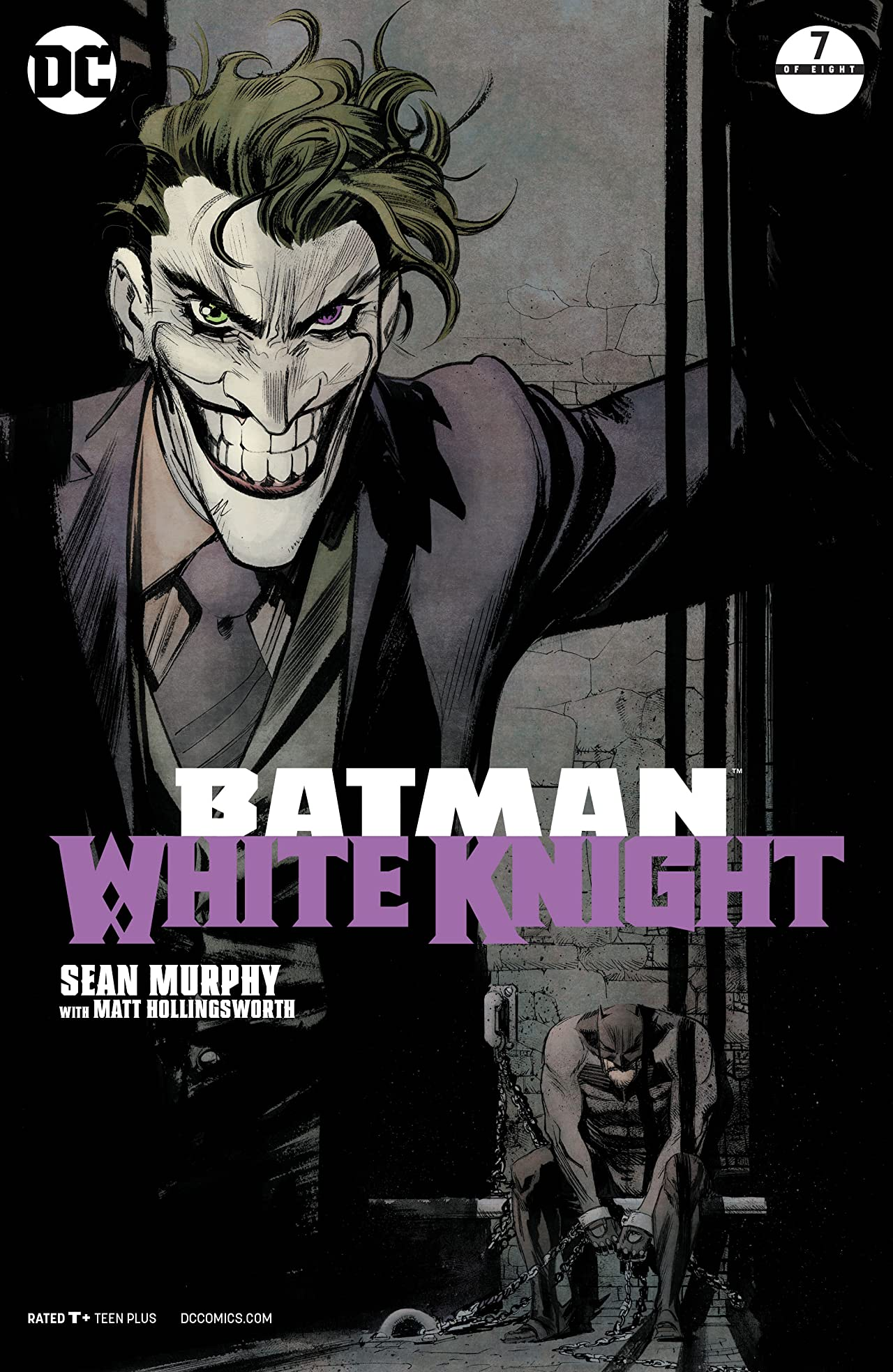 Batman: White Knight (2017-) #7
