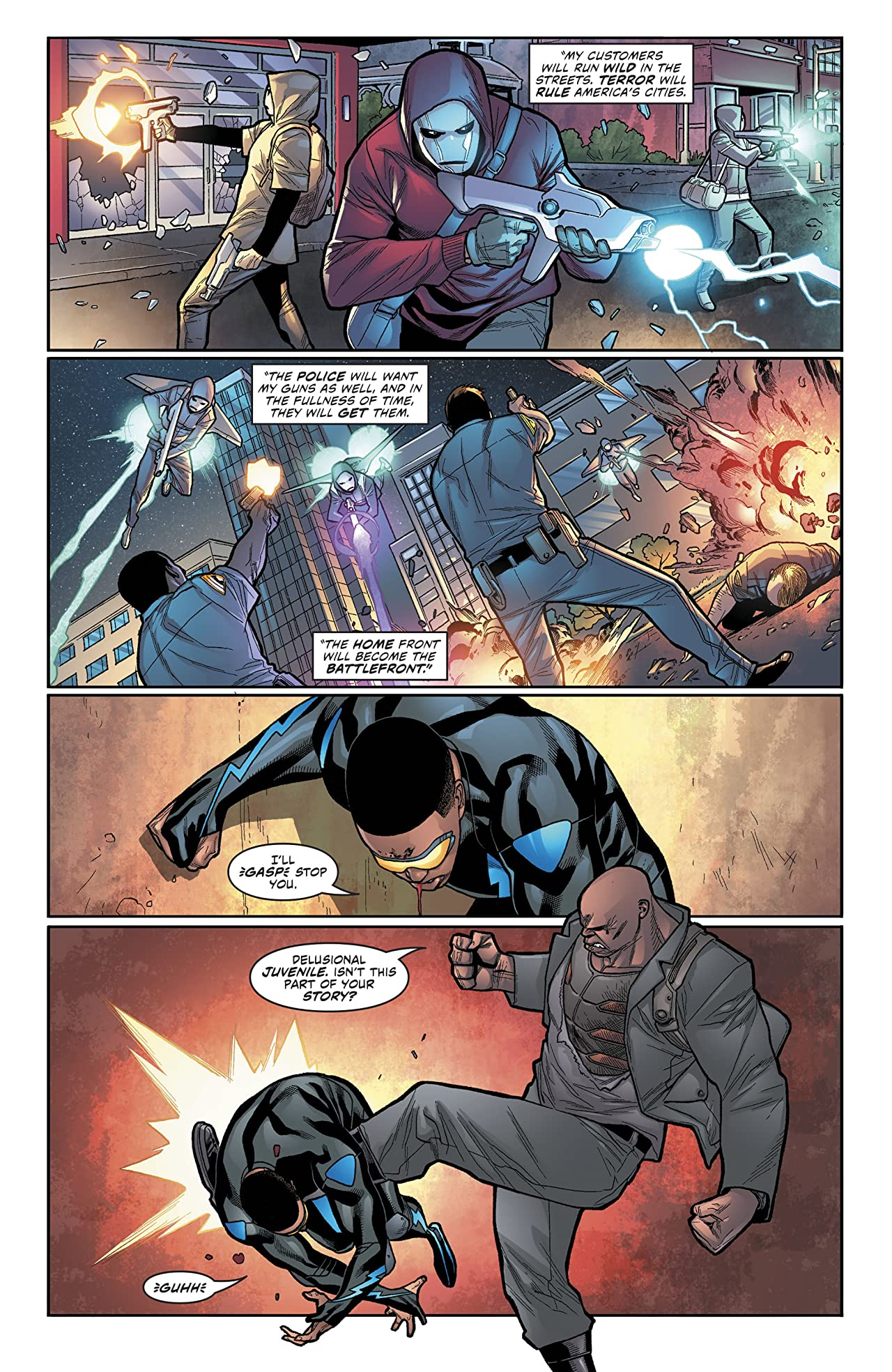 Black Lightning: Cold Dead Hands (2017-) #6