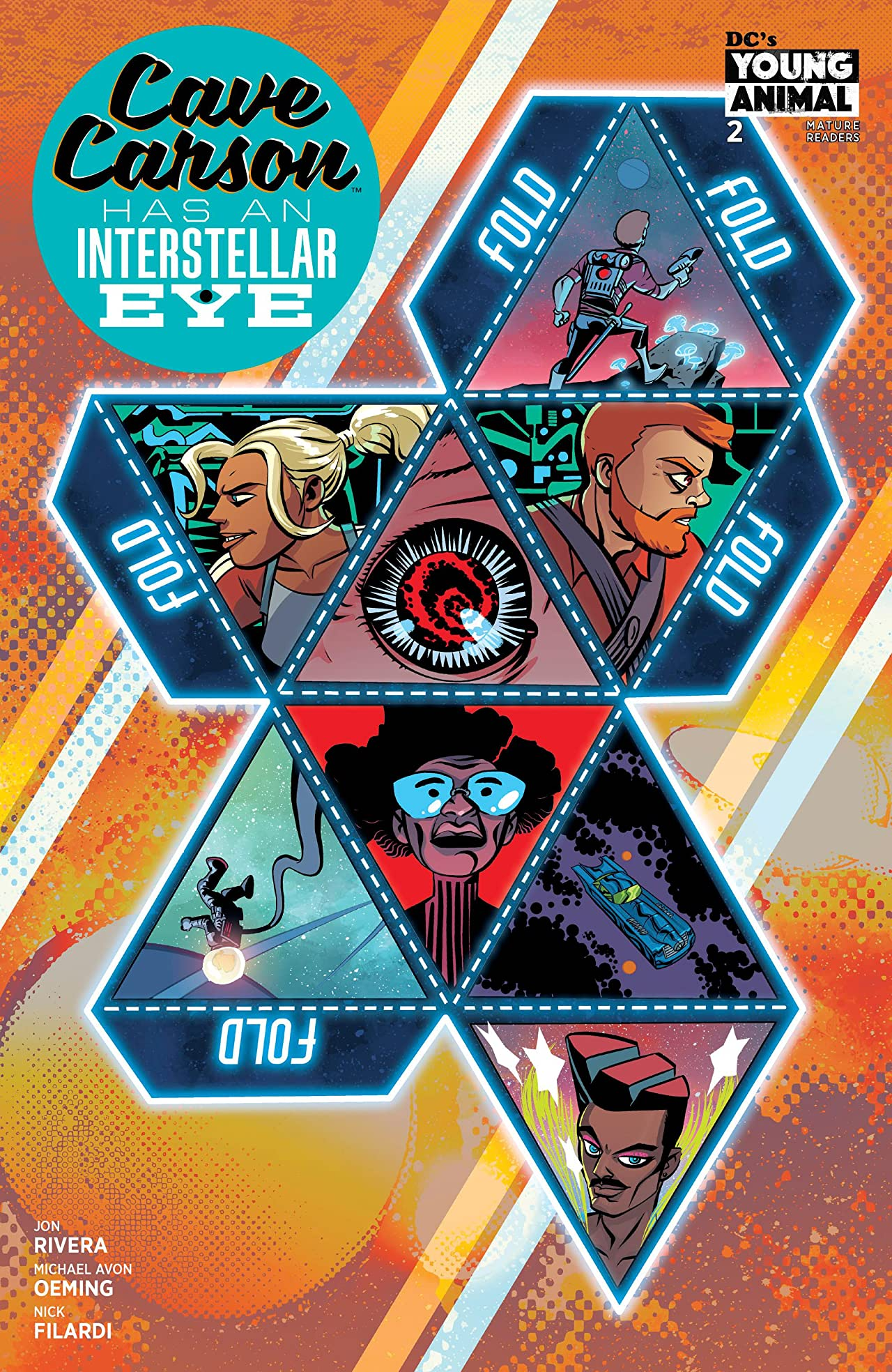 Cave Carson Has an Intersteller Eye (2018-) #2
