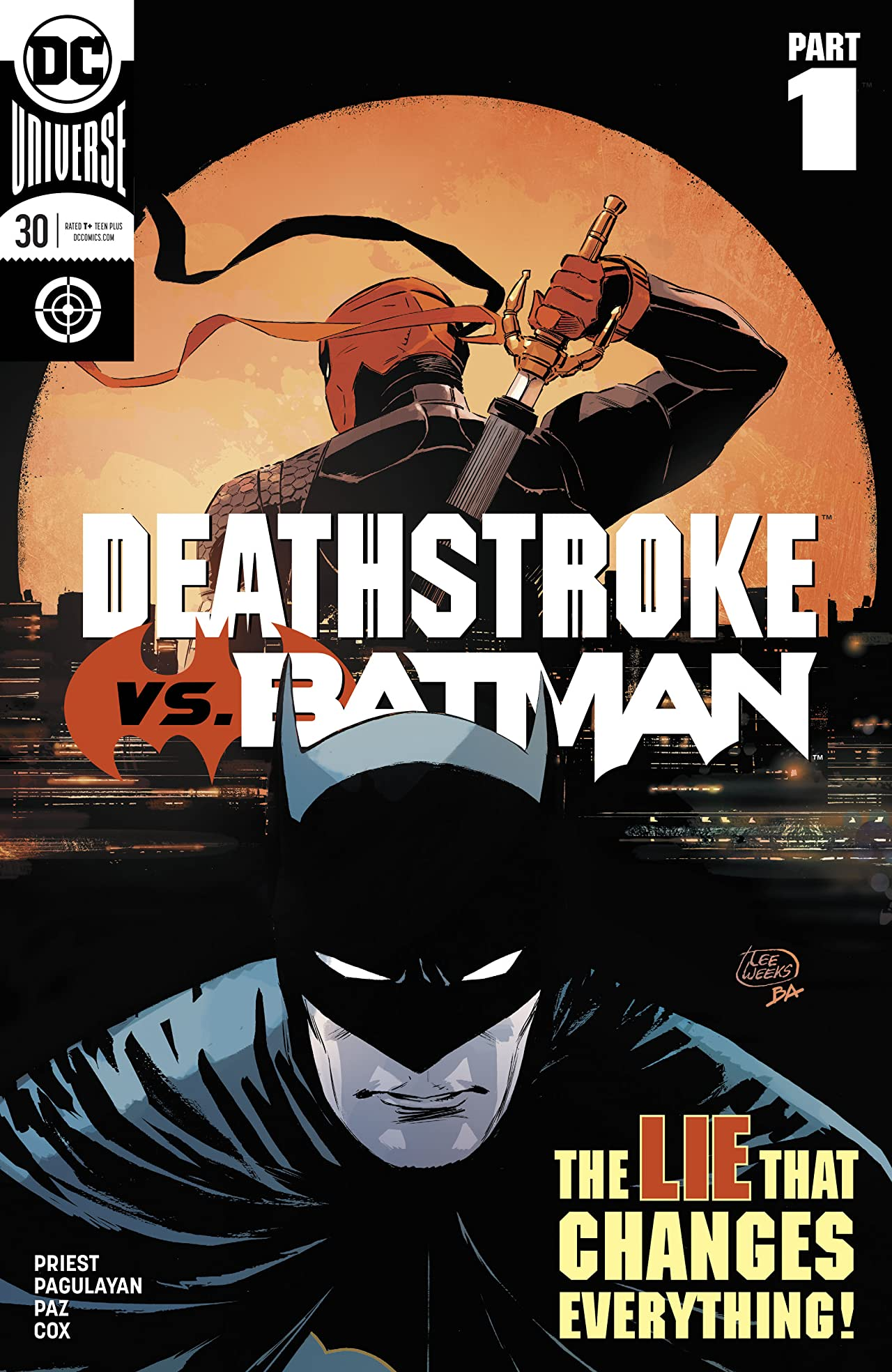 Deathstroke (2016-) No.30