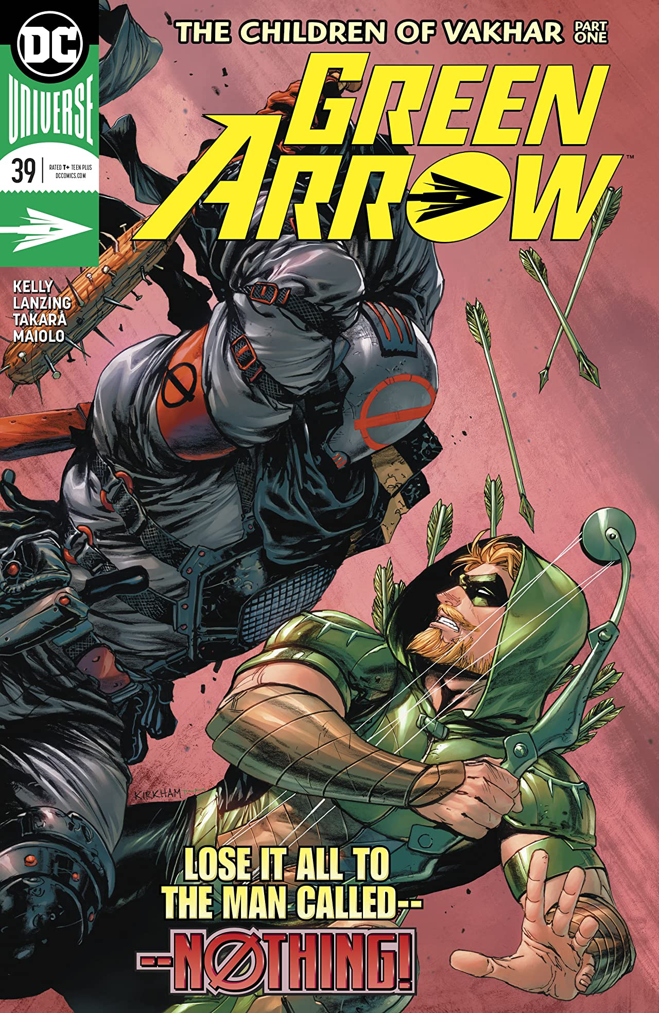 Green Arrow (2016-) #39