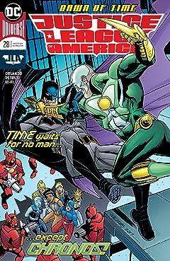 Justice League of America (2017-2018) #28