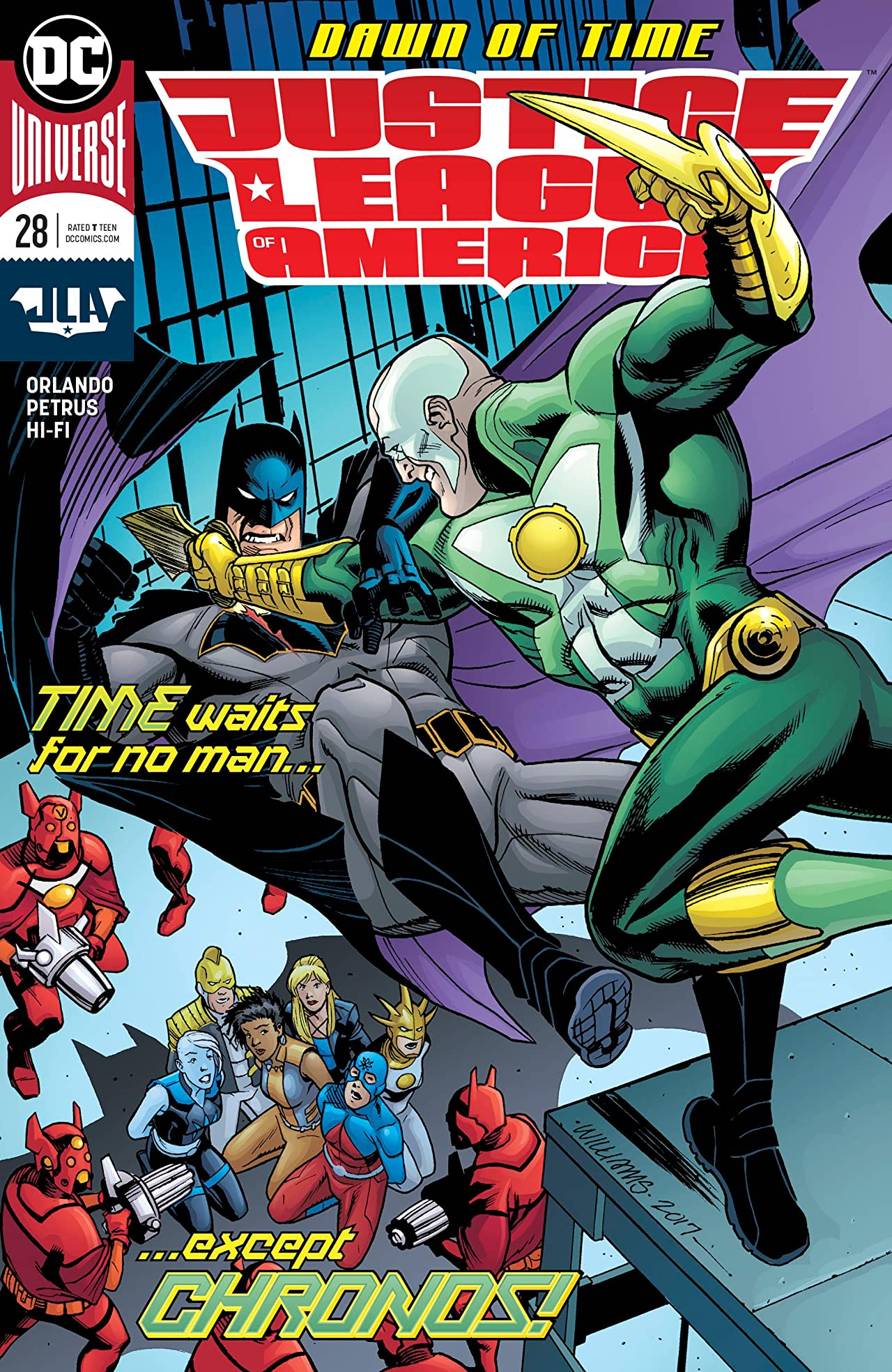 Justice League of America (2017-) #28