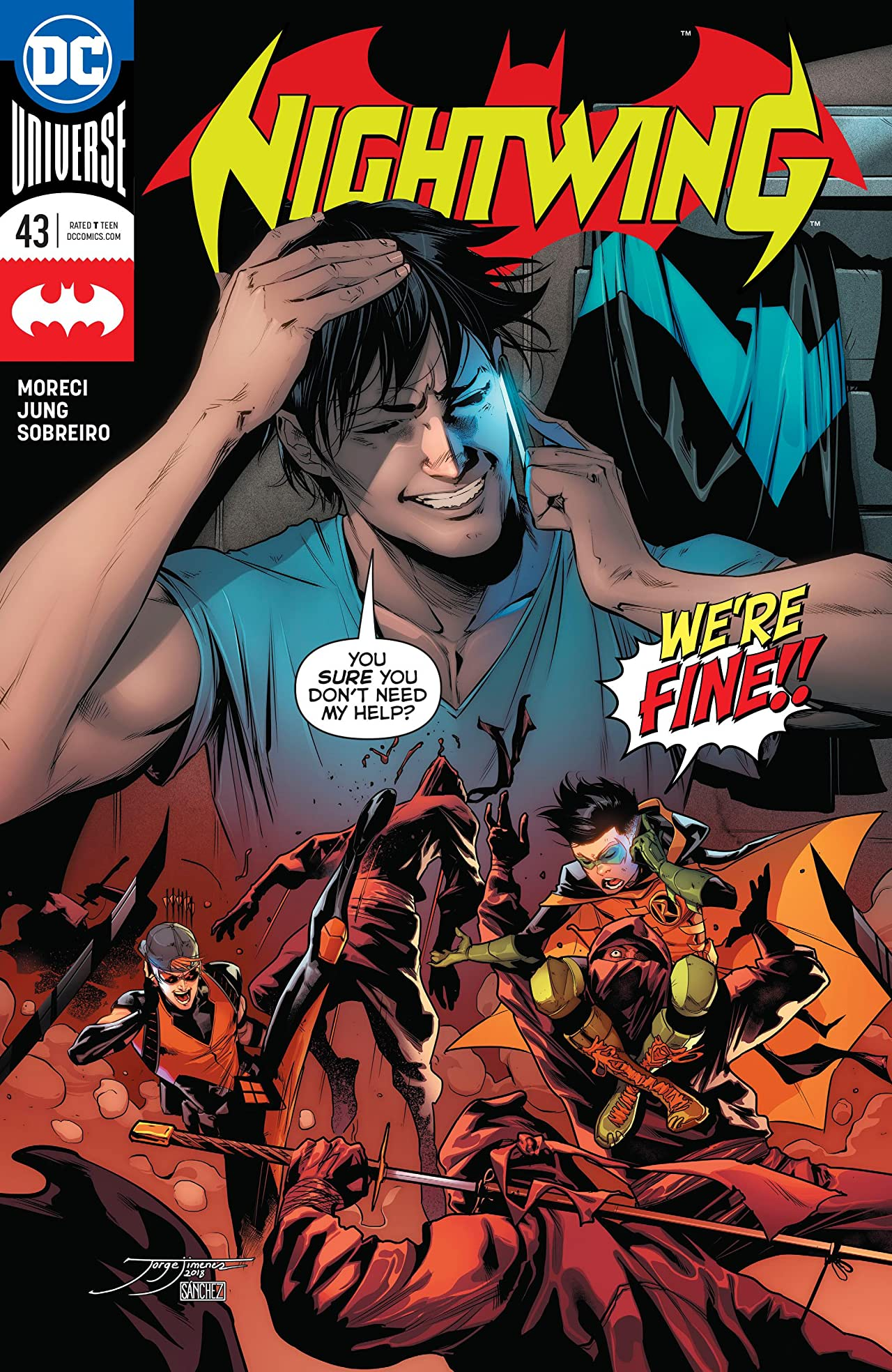 Nightwing (2016-) No.43