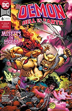 The Demon: Hell is Earth (2017-2018) #6