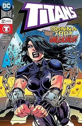 Titans (2016-2019) #22