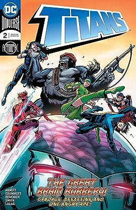 Titans (2016-2019) Annual #2