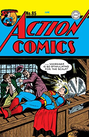 Action Comics (1938-2011) #85-86